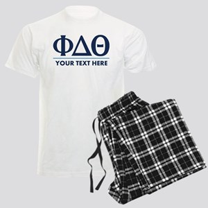 Phi Delta Theta Personalized Men's Light Pajamas