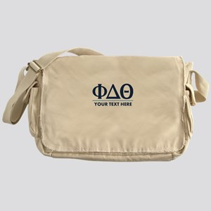 Phi Delta Theta Personalized Messenger Bag