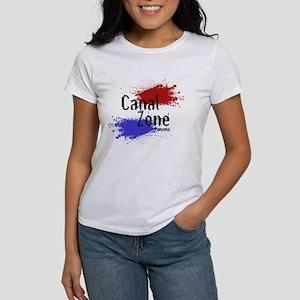 Stylized Panama Canal Zone Women's T-Shirt