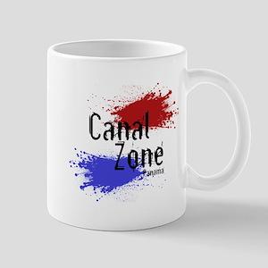 Stylized Panama Canal Zone Mug