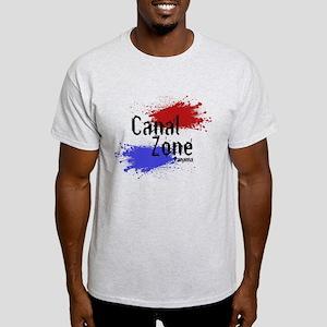 Stylized Panama Canal Zone Light T-Shirt