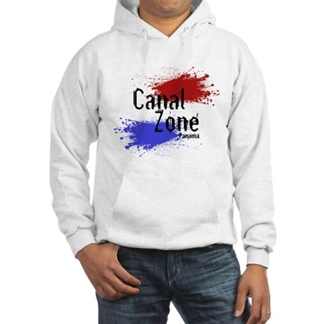 Stylized Panama Canal Zone Hooded Sweatshirt