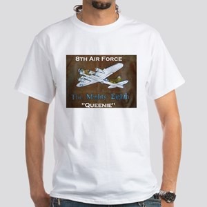 "B-17 ""Queenie"" White T-Shirt"