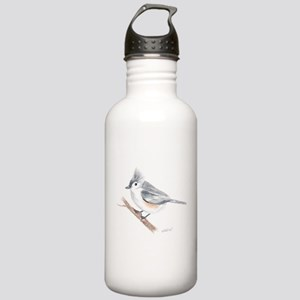 Tufted Titmouse Stainless Water Bottle 1.0L