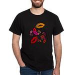 Fibonacci Lips Dark T-Shirt