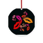 Fibonacci Lips Ornament (Round)