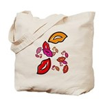 Fibonacci Lips Tote Bag