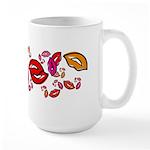 Fibonacci Lips Large Mug