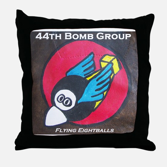 44th Bomb Group Throw Pillow