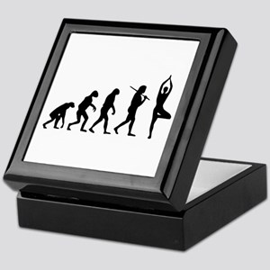 The Evolution Of Yoga Keepsake Box