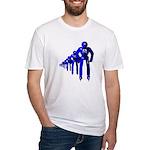 Fibonacci Robots Fitted T-Shirt