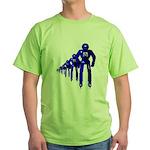 Fibonacci Robots Green T-Shirt