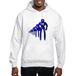 Fibonacci Robots Hooded Sweatshirt