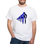 Fibonacci Robots White T-Shirt