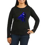 Fibonacci Robots Women's Long Sleeve Dark T-Shirt