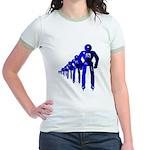 Fibonacci Robots Jr. Ringer T-Shirt