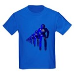 Fibonacci Robots Kids Dark T-Shirt
