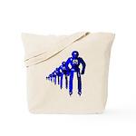 Fibonacci Robots Tote Bag