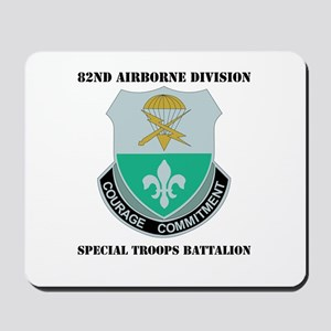 DUI - 82nd Abn Div - Special Troops Bn with Text M