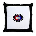 Ziwak's Martial Arts Throw Pillow