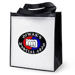 Ziwak's Martial Arts Reusable Grocery Tote Bag