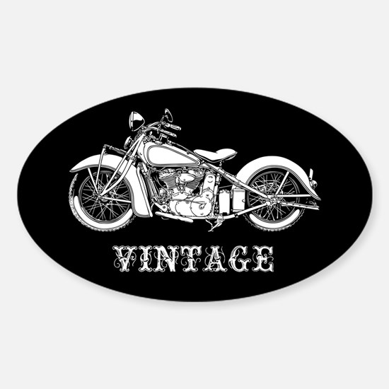 Vintage II Sticker (Oval)
