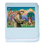 St Francis/ Aus Shep baby blanket