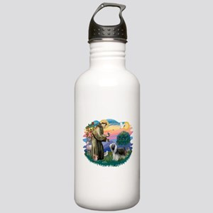St.Francis #2/ Beardie (sw) Stainless Water Bottle