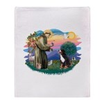 St Francis #2/ BMD Throw Blanket