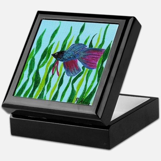 Betta fish Keepsake Box