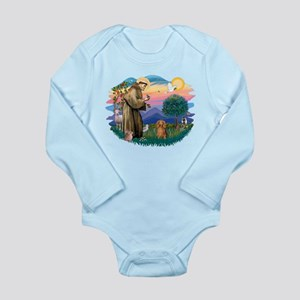 St.Fran #2/ Dachshund (LH-S) Long Sleeve Infant Bo