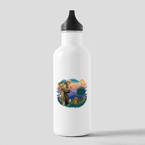 St.Fran #2/ Dachshund (LH-S) Stainless Water Bottl