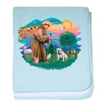St.Francis #2/ Eng Bull (W #1 baby blanket