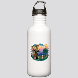 St.Fran. #2/ Havanese pup Stainless Water Bottle 1