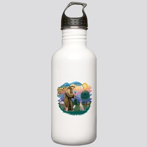 St.Francis #2/ Ital Grey (f) Stainless Water Bottl