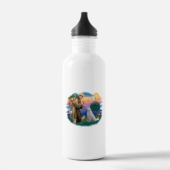 St Francis #2/ Kuvacz Water Bottle