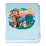 St.Francis #2/ Lhasa Apso (# baby blanket