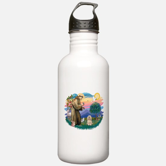 St.Francis #2/ Lhasa Apso (# Water Bottle