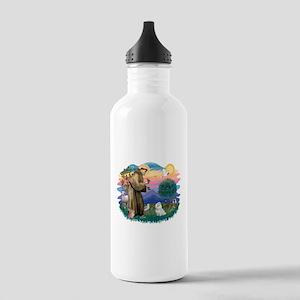 St.Francis #2/ Maltese #7 Stainless Water Bottle 1