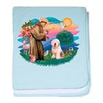 St.Francis #2/ Old English (# baby blanket
