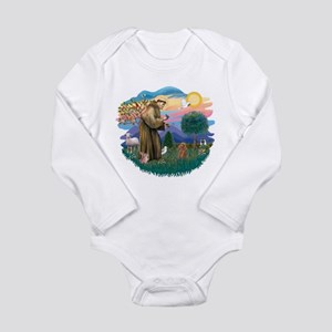 St.Francis #2/ Poodle (Toy A) Long Sleeve Infant B