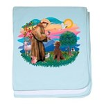 St.Francis #2 / Poodle (ST-Ch baby blanket