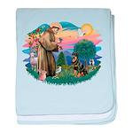 St Francis #2 / Rottweiler baby blanket