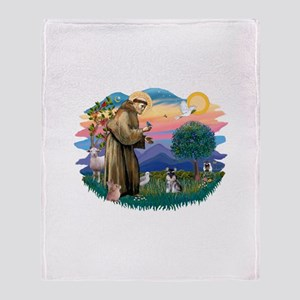 St.Francis #2/ ********* Schn Throw Blanket