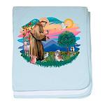 St Francis #2/ Shih Tzu #8 baby blanket