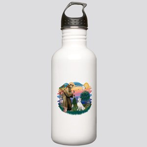 St Francis #2/ S Husky (W) Stainless Water Bottle