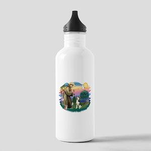 St Francis #2/ Siberian #3 Stainless Water Bottle
