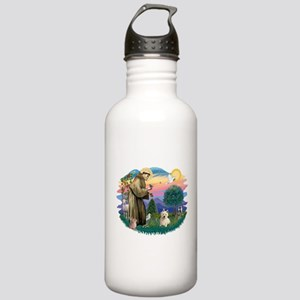 St Francis #2/ Westie #1 Stainless Water Bottle 1.