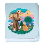 St Francis #2/ Wheaten #2 baby blanket