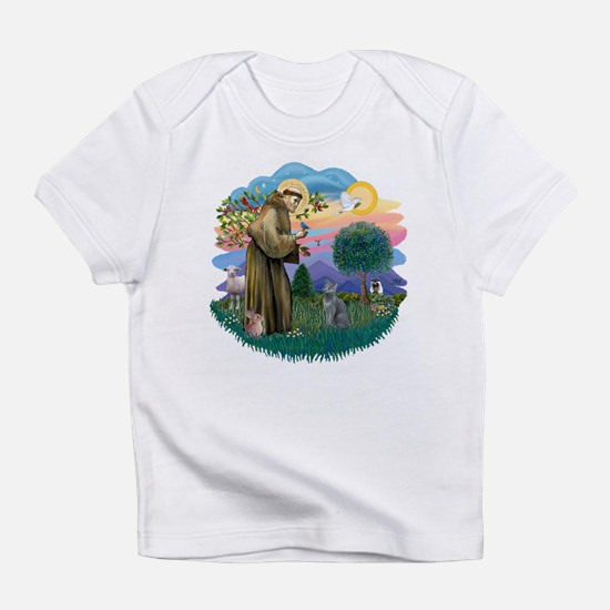 St. Fran (ff) - Russian Blue Infant T-Shirt